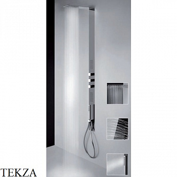 Gessi Private Wellness TREMILLIMETRI QUADRO Душевая стойка